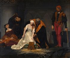 The Execution of Lady Jane Grey - Paul Delaroche - 1833