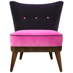John Lewis Harmony Colour Block Chair, Pink,