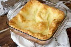 Downton Abbey dinner party menu: Fluffy Yorkshire Pudding #recipe