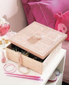 Caixa para bijuterias / DIY, Craft, Upcycle