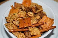 Jacked Up Chex Mix