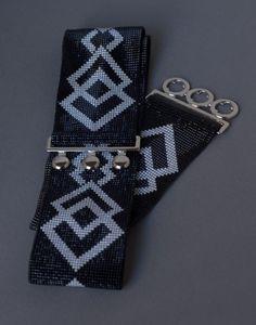 Bead loom belt