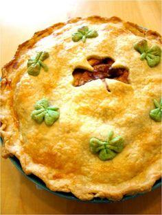 St Patricks day pie
