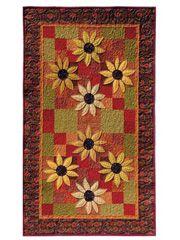 Sunflowers in Season Table Runner Pattern