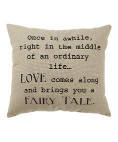 'Fairy Tale' Pillow