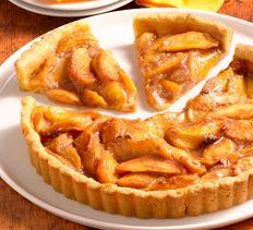 Spiced Peach Tart