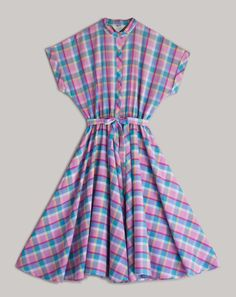 Image of 50s Candy Checkered Dress