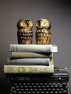 Owl salt & pepper shakers :)