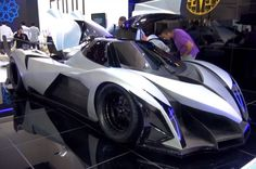 Devel Sixteen debuts in Dubai with alleged 5,000 hp and 350-mph top speed