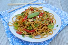 Sesame Peanut Noodles is an easy, versatile meal…perfect for a simple family dinner or a potluck!