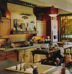 I love Italian kitchens!
