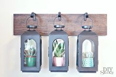 Wall Mounted Lantern Hanger Greenhouse