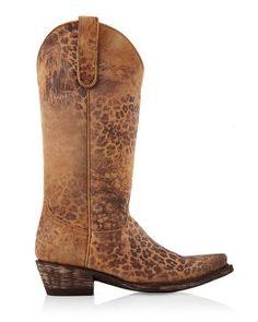 Chico's Old Gringo Leopardito Cowboy Boot #chicos