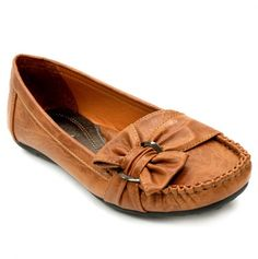 Loafer with Side Bow.