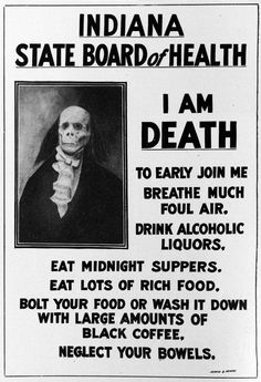 eat midnight suppers. neglect your bowels.