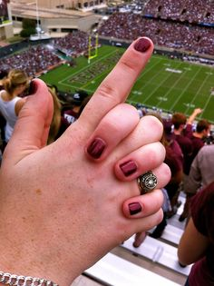 Aggie Ring & Aggie Football! Whoop!