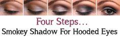 smokey shadow hooded eyes