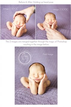 """Newborn photography """"How To's"""""""