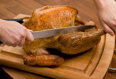 How To: Carve a Turkey at PaulaDeen.com