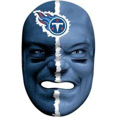 Franklin Sports 6991F33 NFL Tennessee Titans Fan Face Mask