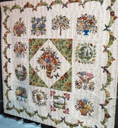 Beautiful Baltimore album quilt
