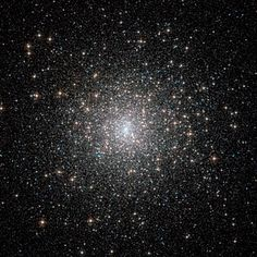 "Globular cluster M15 in the constellation Pegasus. It's a ball of thousands of stars and is regarded as one of the finest examples of such a cluster in the northern sky. (Credit: ESA/Hubble & NASA) Mona Evans, ""Pegasus the Winged Horse"" http://www.bellaonline.com/articles/art24050.asp"