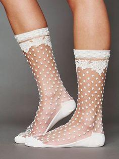 Lily Dot Sock.