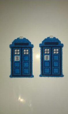 Handmade plastic canvas magnets