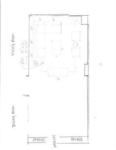 LR floor plan by Sherry Cooper, via Flickr