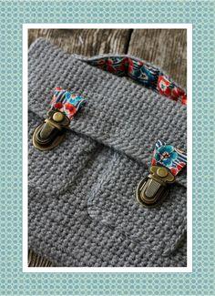 Angel Melie, cartable crochet