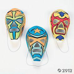 champion kid, superhero mask, orient trade, color, superhero parti, masks, bday parti, kid 2013, diy mask