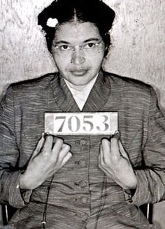 December 1 1955, Rosa Parks refuses to give up her seat for a white passenger, leading to her arrest and sparking the Montgomery Bus Boycott. For many, this day was a  symbolic start for the civil rights movement.