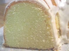 Elvis Presley's Favorite Whipping Cream Pound Cake. Photo by sadielady