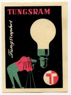Hungarian matchbox label, 1960's