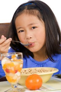 Good Wellness Habits Help Kids Prosper in #School #parenting #family kid breakfast