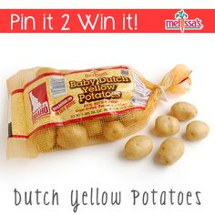 It's national potato month!!! Re-Pin this Pin and you could #WIN America's #1 tasting potato!!! #DYP #DutchYellow #Giveawat