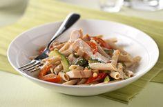 Zesty Italian Chicken with Pasta & Vegetables recipe