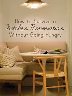 Kitchen Remodeling Tips: How To Survive a Renovation...Without Going Hungry — Reader Intelligence Report