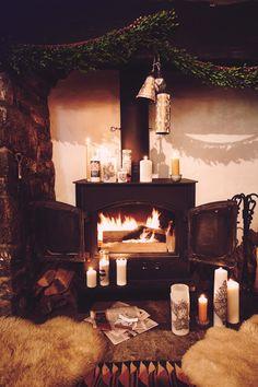 Cabin cozy.