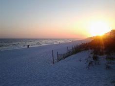 Fort Walton Beach, Florida at Sunset