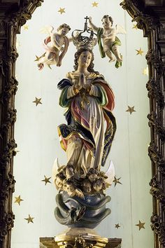 Igreja do Carmo and Igreja das Carmelitas - 10 | Statue of the Virgin Mary