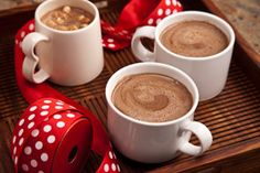 Ultimate Hot Chocolate made with almond milk