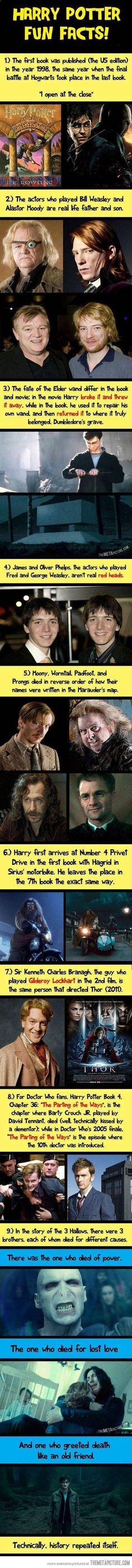 Harry Potter fun trivia