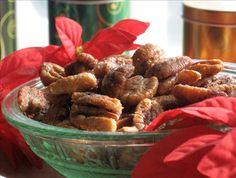 Crock Pot Sugared Nuts.