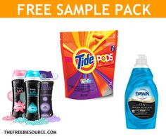 FREE Tide Pods, Downy Unstopables and Dawn Power Clean Samples  http://www.thefreebiesource.com/?p=171766