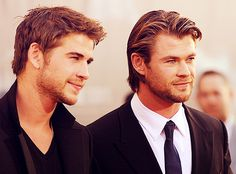 The Hemsworth brothers.