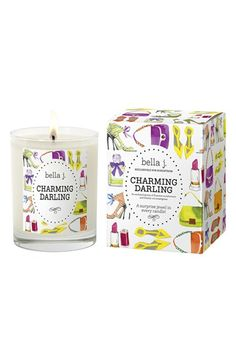 Bella J 'Charming Darling' Candle available at #Nordstrom. These are rad!! There is a charm worth $10-$1000 at the end do the candle! Picked a few up for my favorite ladies;)