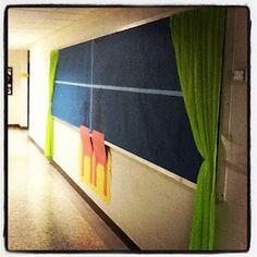 Dr. Seuss!  But with a blue sky?? K & C Love Grade 3!: Bulletin Boards