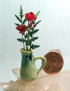 Hey, I found this really awesome Etsy listing at https://www.etsy.com/listing/159912782/miniature-arts-and-crafts-tall-pitcher
