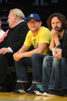 Joseph Gordon-Levitt is seen at the Los Angeles Clippers and the Los Angeles Lakers game at #Staples Center in Los Angeles on November 2, 2012 http://celebhotspots.com/hotspot/?hotspotid=6465&next=1